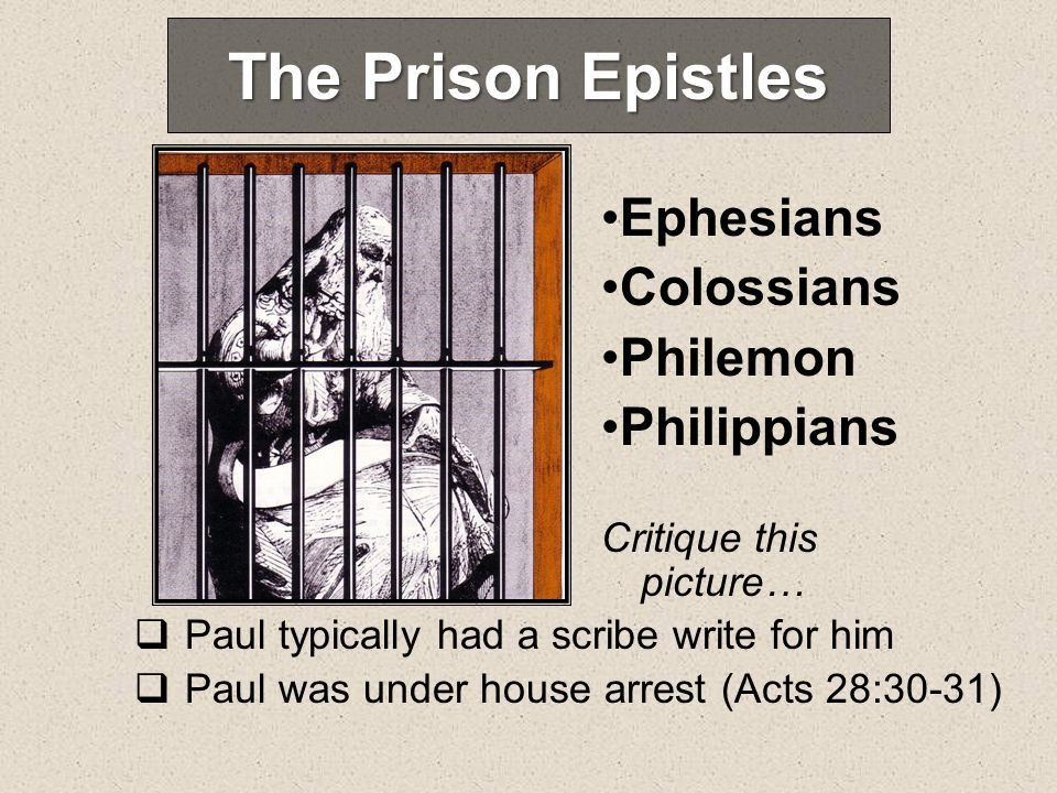 Philemon Onesimus, a slave of Philemon, probably stole some money and ran away (18) He became Pauls convert (10) Paul wanted to return him to Philemon (12) Occasion Purpose Appeal for forgiveness and reconciliation (17) Appeal indirectly for the services of Onesimus (13-14, 20-21) Request for a guest room (22)