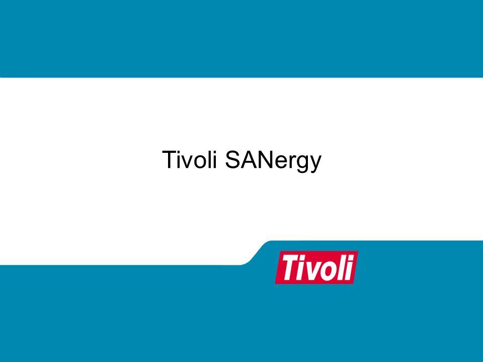 Tivoli SANergy