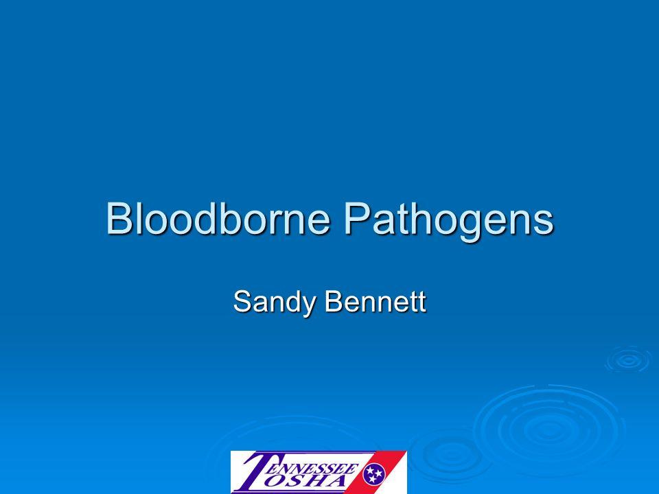 Bloodborne Pathogens Sandy Bennett