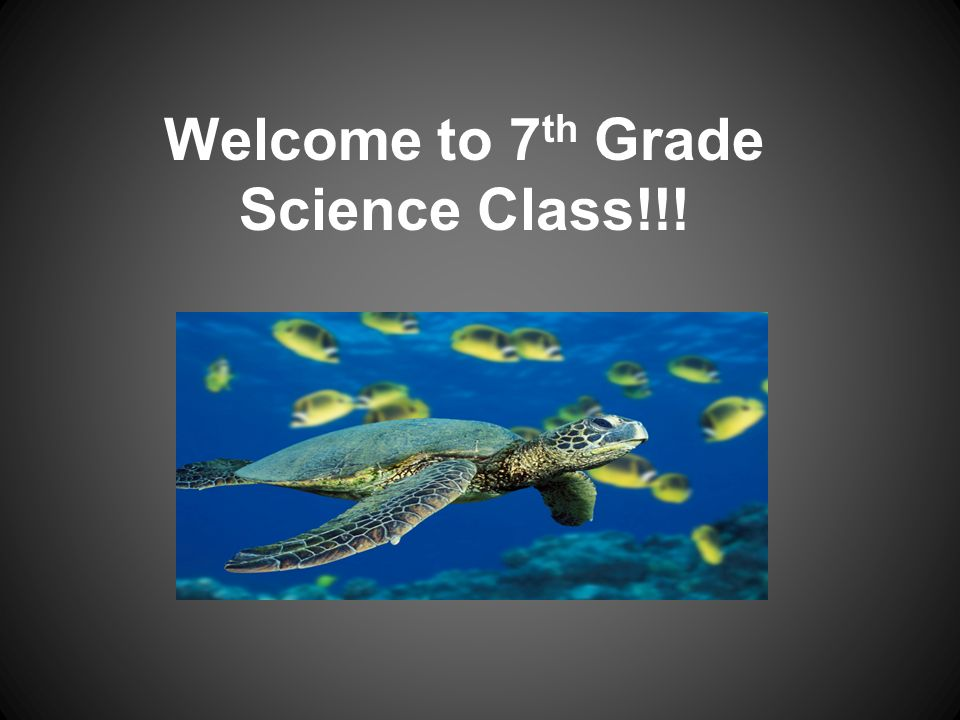 Welcome to 7 th Grade Science Class!!!