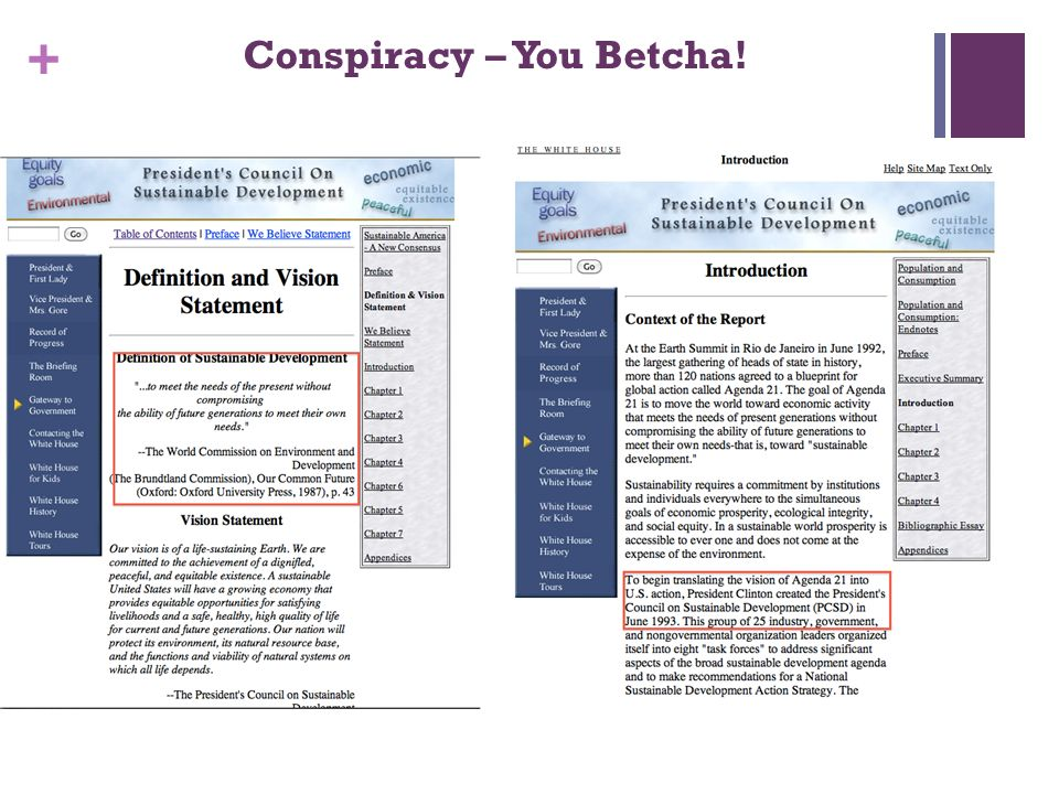 + Conspiracy – You Betcha!
