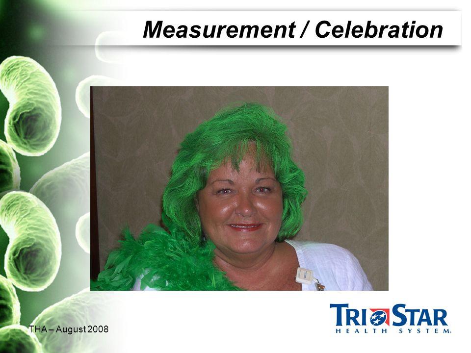 THA – August 2008 Measurement / Celebration