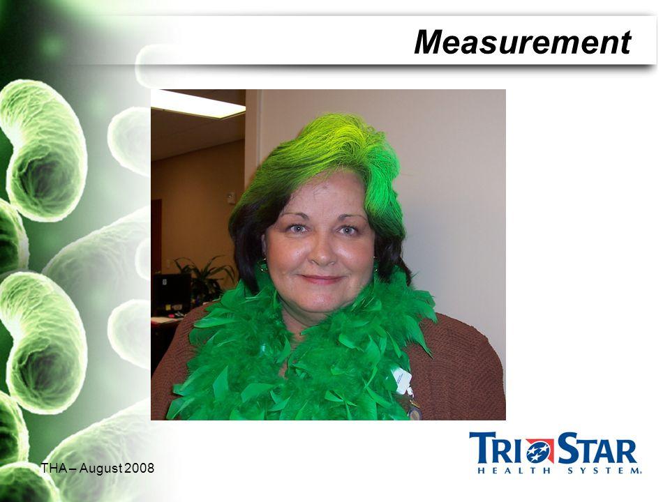 THA – August 2008 Measurement