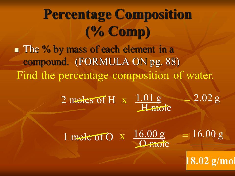 Molar Mass NaCl NaCl H 2 SO 4 H 2 SO 4 MgCl 2 MgCl 2 HCl HCl 58.44 g/mol 58.44 g/mol 98.09 g/mol 98.09 g/mol 95.21 g/mol 95.21 g/mol 36.46 g/mol 36.46 g/mol