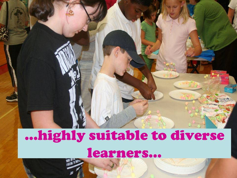 …highly suitable to diverse learners…