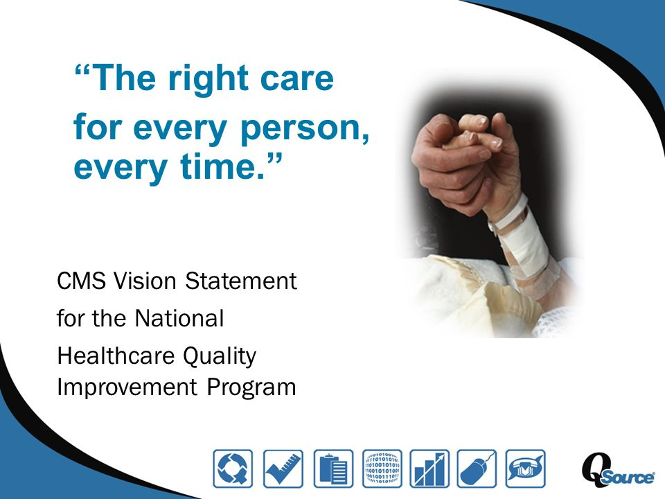 S afe T imely E ffective Efficient Equitable P atient-centered The Institute of Medicine The Right Care