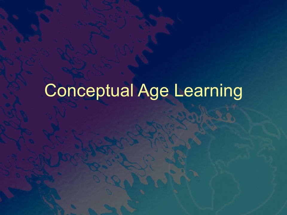 Conceptual Age Learning
