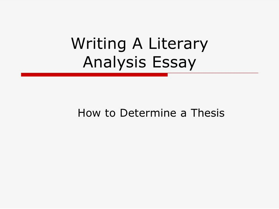how to write an literary essay Literary essay: grade 5 writing unit 2 literary essay practice opens the this on-demand assessment shows what students know about essay writing to write about.