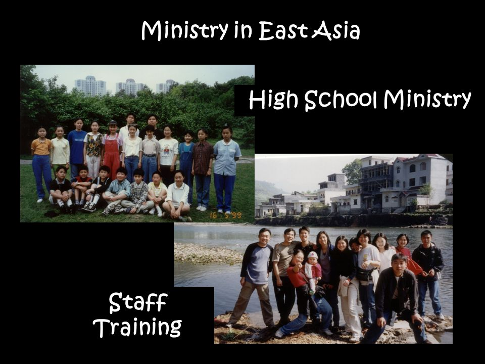 High School Ministry Staff Training Ministry in East Asia
