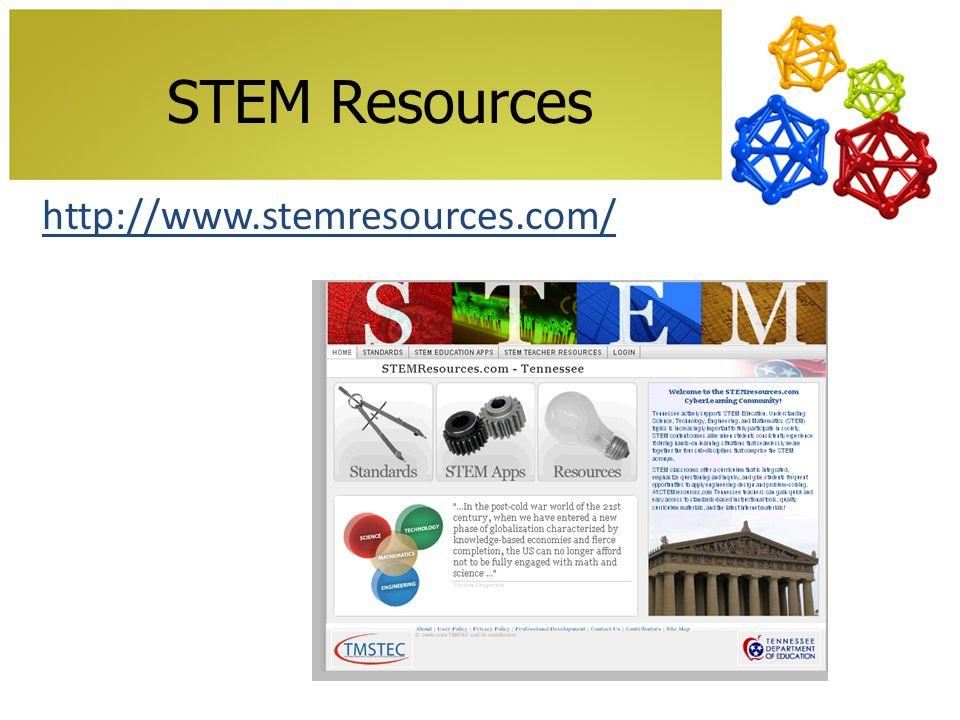 STEM Resources http://www.stemresources.com/