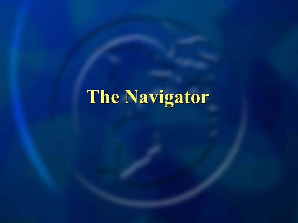 The Navigator The Navigator