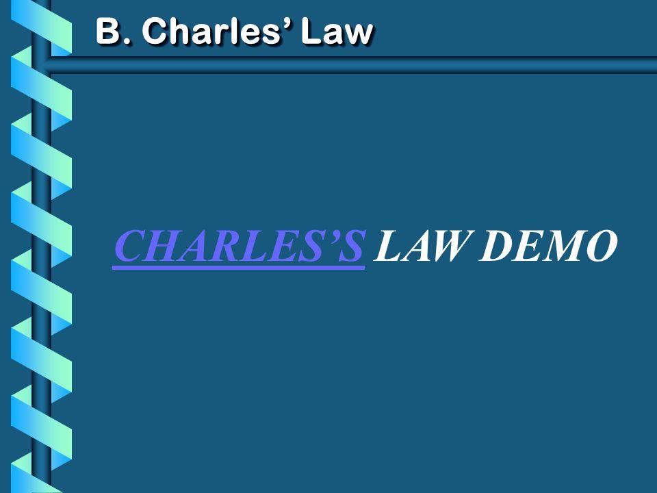 B. Charles Law CHARLESS LAW DEMO