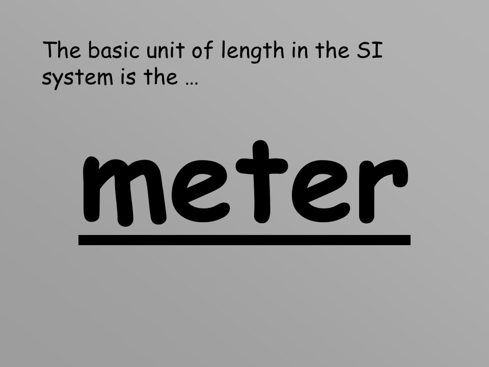 What is length? Length is the distance from one point to another