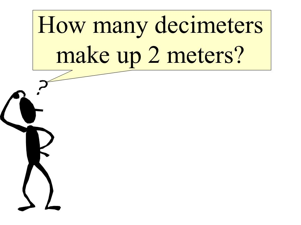 Thats right! There are 2000 millimeters in 2 meters.