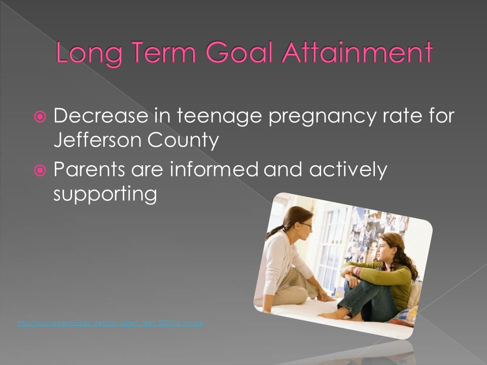 Decrease in teenage pregnancy rate for Jefferson County Parents are informed and actively supporting http://www.parentimpact.net/nm_parent_teen_080314