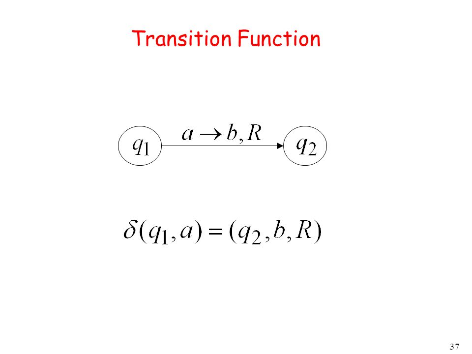 37 Transition Function
