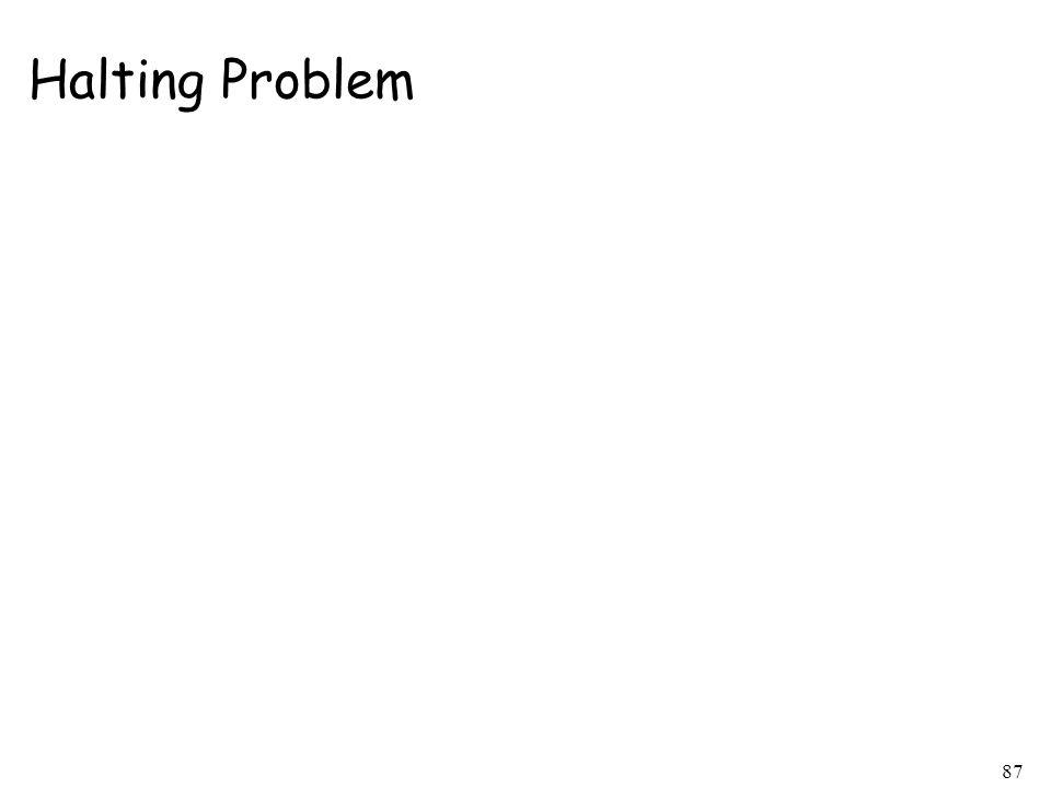 Halting Problem 87
