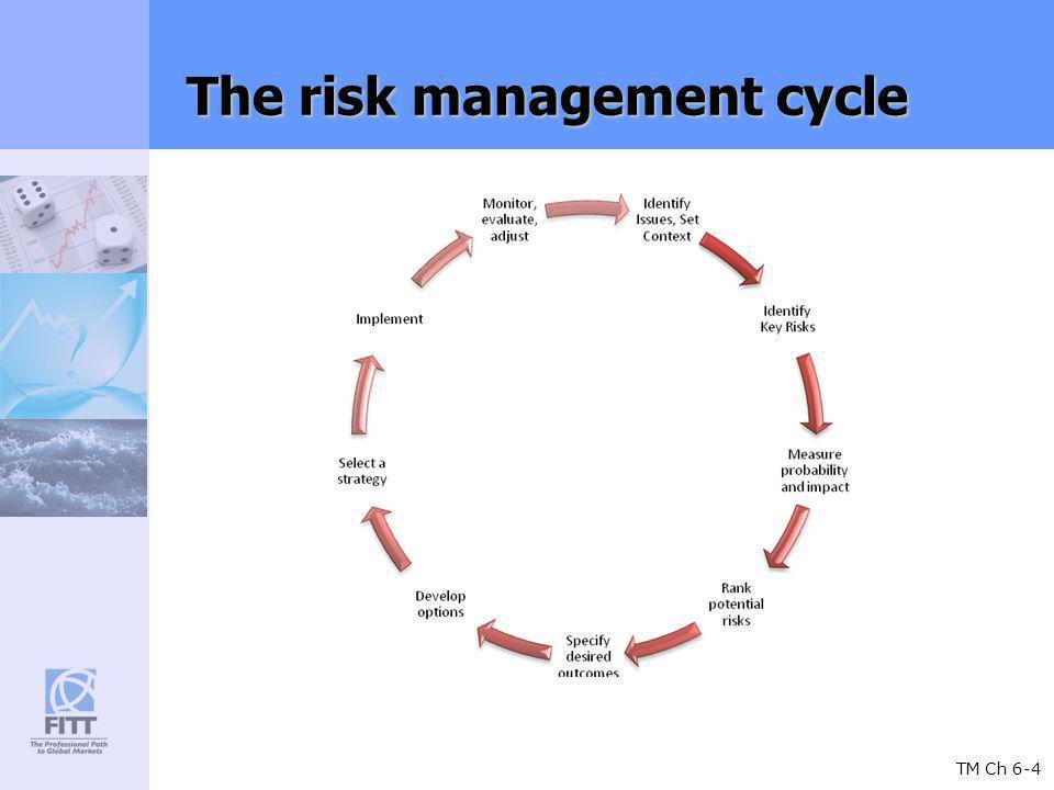 TM Ch 6-4 The risk management cycle