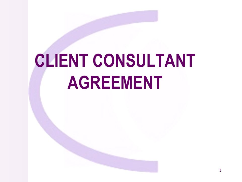 2 Negotiations Types of Consulting Contracts Standard Form of Contract Form of Contract General Conditions Special Conditions Appendices –Description of Services –Reporting Requirements –Staffing Schedule –Cost Estimates –Duties of Consultant and Client