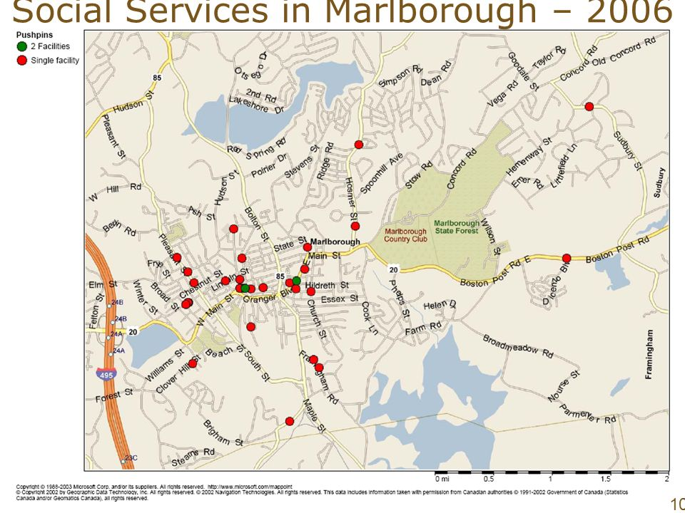 May 9, Social Services in Marlborough –
