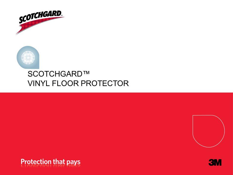 SCOTCHGARD VINYL FLOOR PROTECTOR