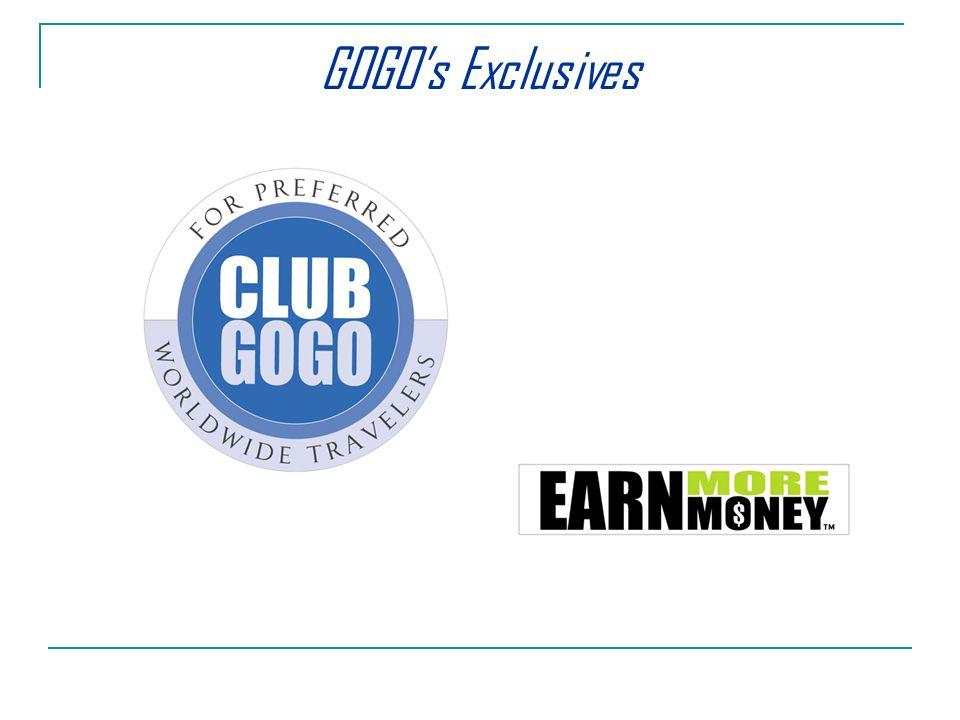 GOGOs Exclusives
