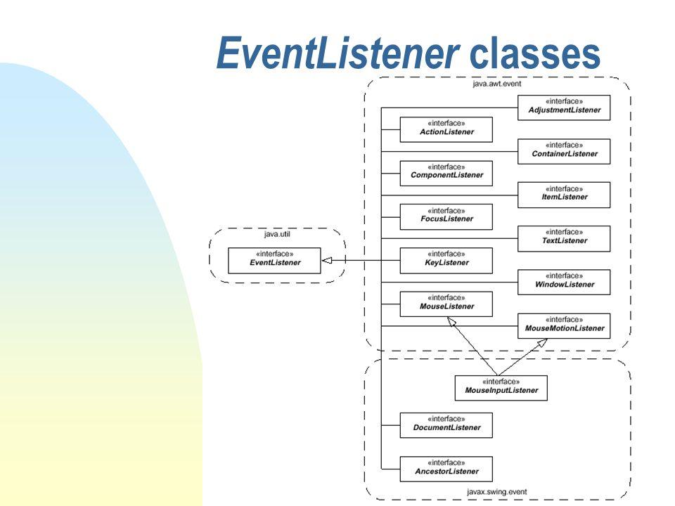 EventListener classes