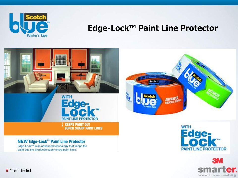 3 Confidential Edge-Lock Paint Line Protector