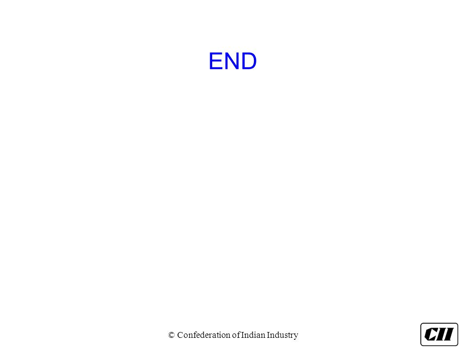 END © Confederation of Indian Industry