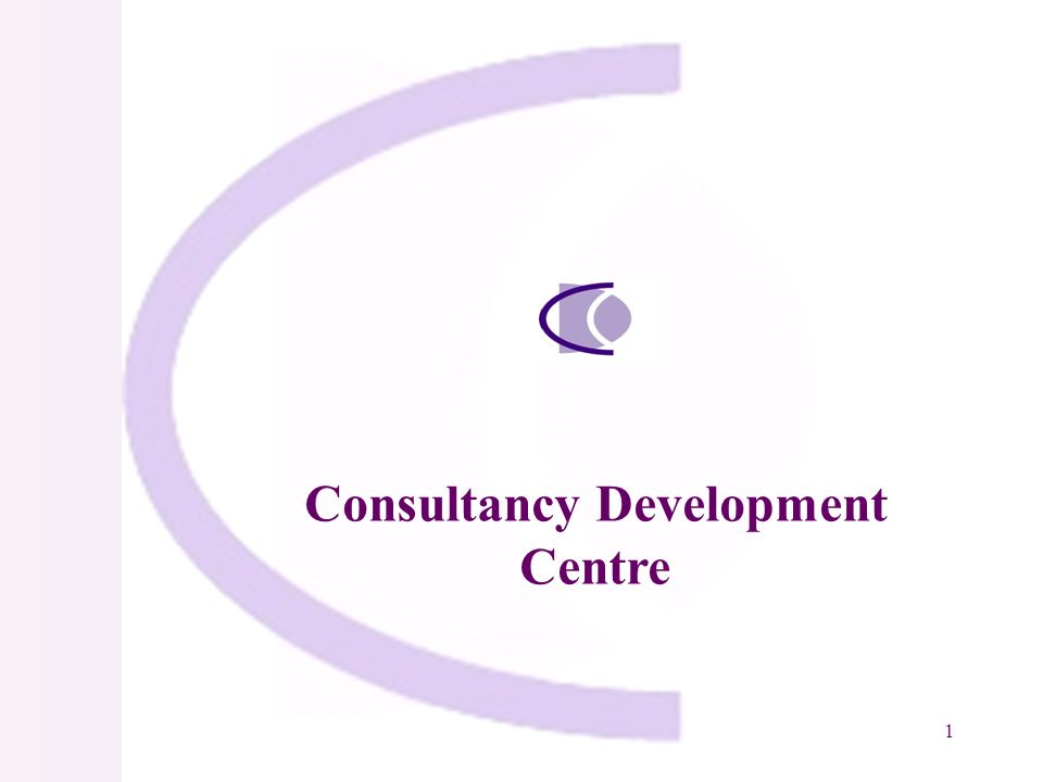 1 Consultancy Development Centre