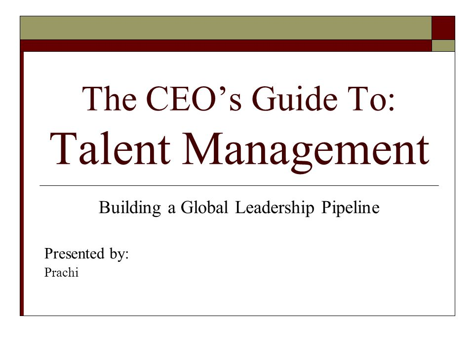 Trap 9: Assuming Your Managers At All Levels Are Talent Leaders.