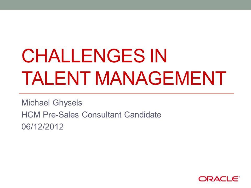 Content Framework : Strategic HRM Challenges 1.Working in silos 2.