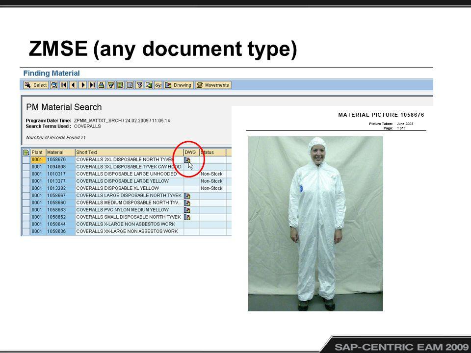 ZMSE (any document type)