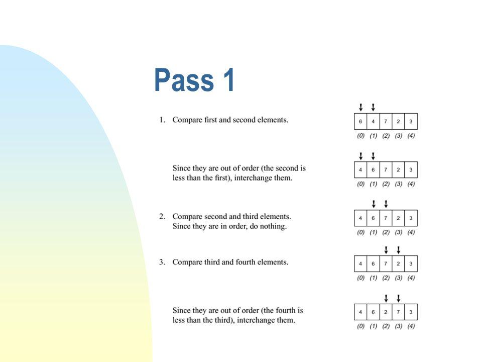 Pass 1