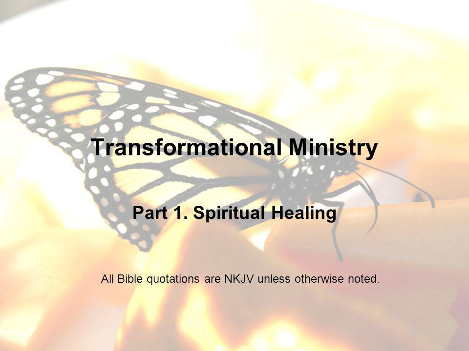 Goals of Teaching Series To learn to participate with the Holy Spirit in our sanctification To experience victory over stubborn sin areas To learn how to help each other through the transformation process To learn practical skills for reconciliation