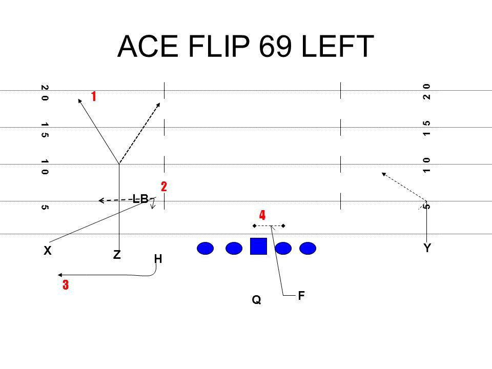 ACE FLIP 69 LEFT X F H Q Z Y 5 1 0 1 5 2 0 1 5 1 0 5 1 3 2 4 LB