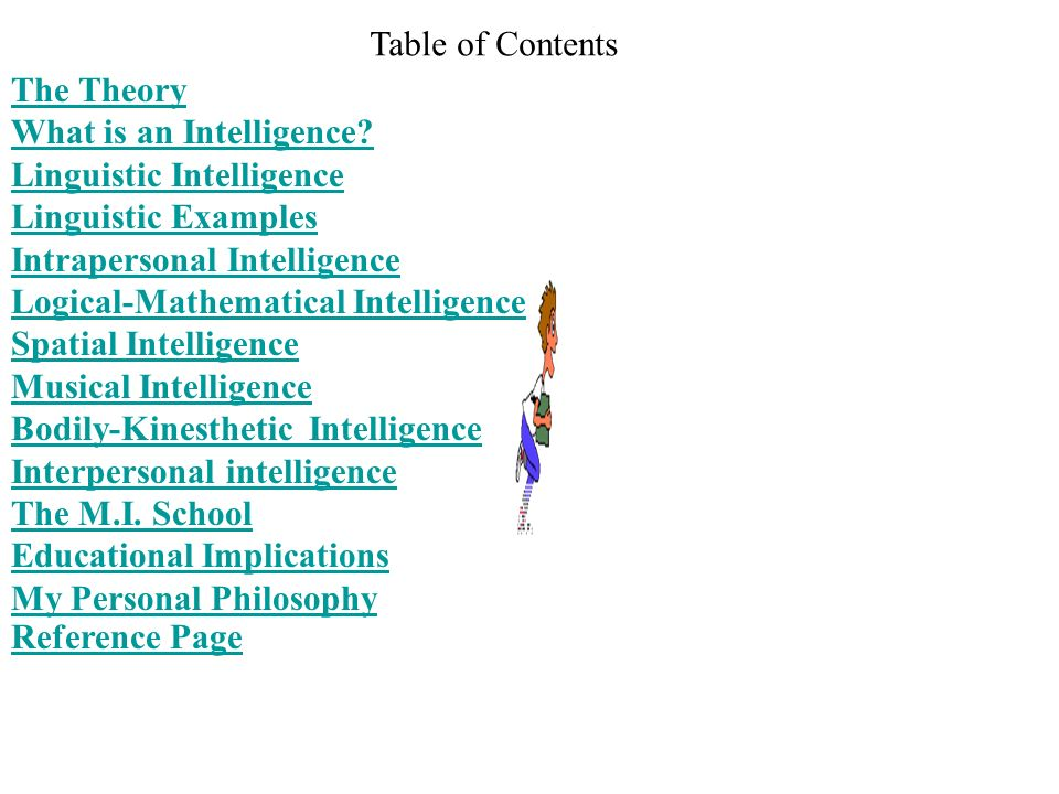 Multiple Intelligences The Theory in Practice By Howard Gardner