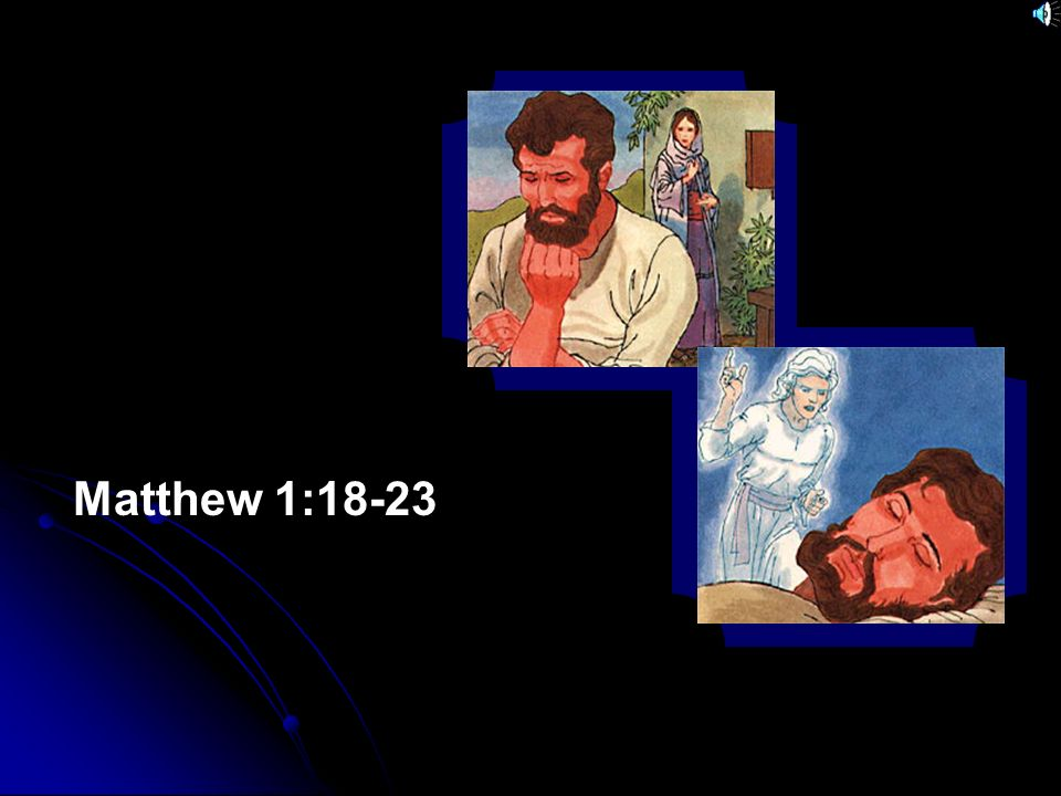 Matthew 1:18-23