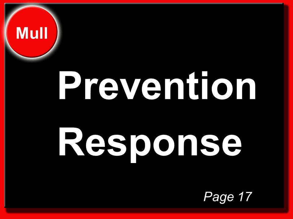 Prevention Response Mull Page 17