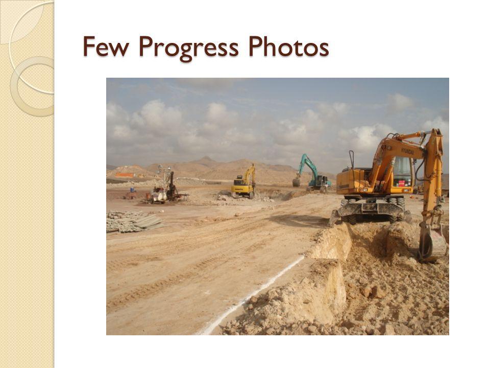 Few Progress Photos
