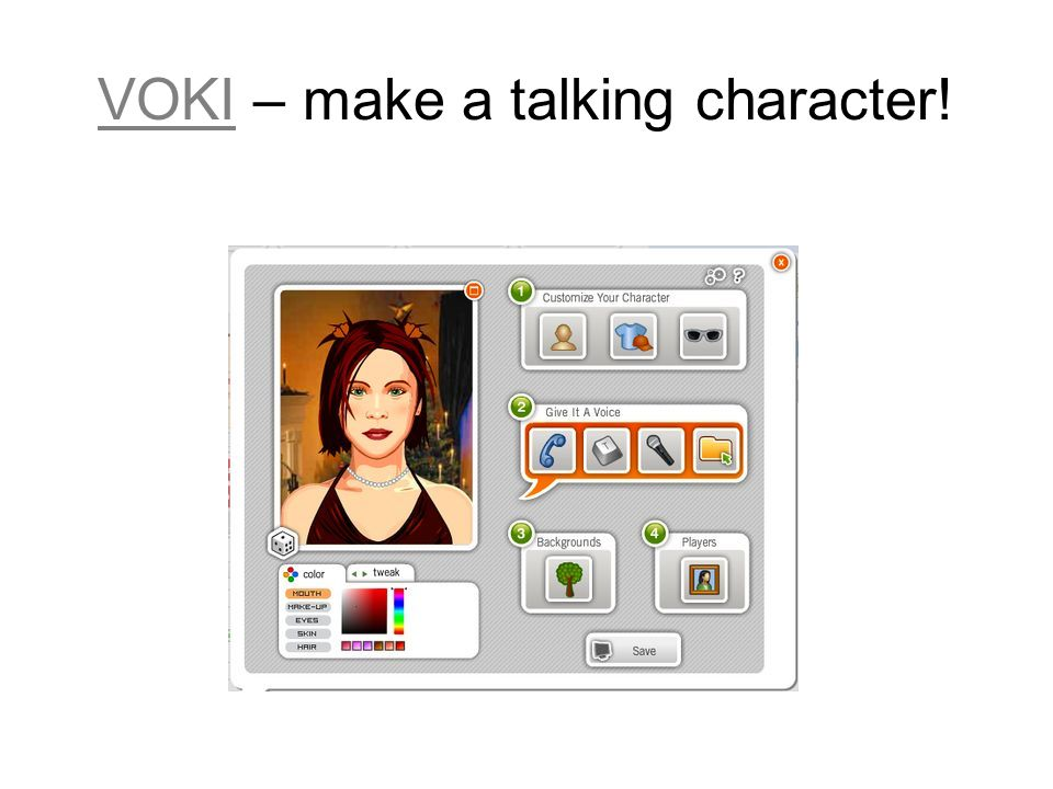 VOKIVOKI – make a talking character!