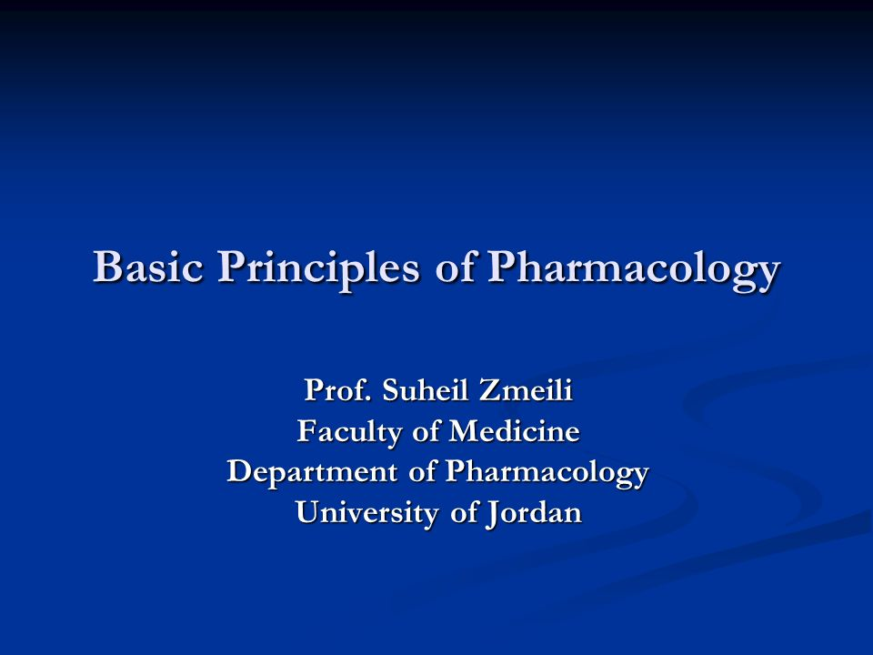 ** Pharmacology Pharmakon = Drug; Logos = Science Pharmakon = Drug; Logos = Science The study of drugs and their interactions with living systems Wide term which includes: - The investigation of the biochemical and physiological effects of drugs - The study of drug absorption; distribution; metabolism and excretion - The knowledge about the history; sources; physical and chemical properties and therapeutic uses of drugs