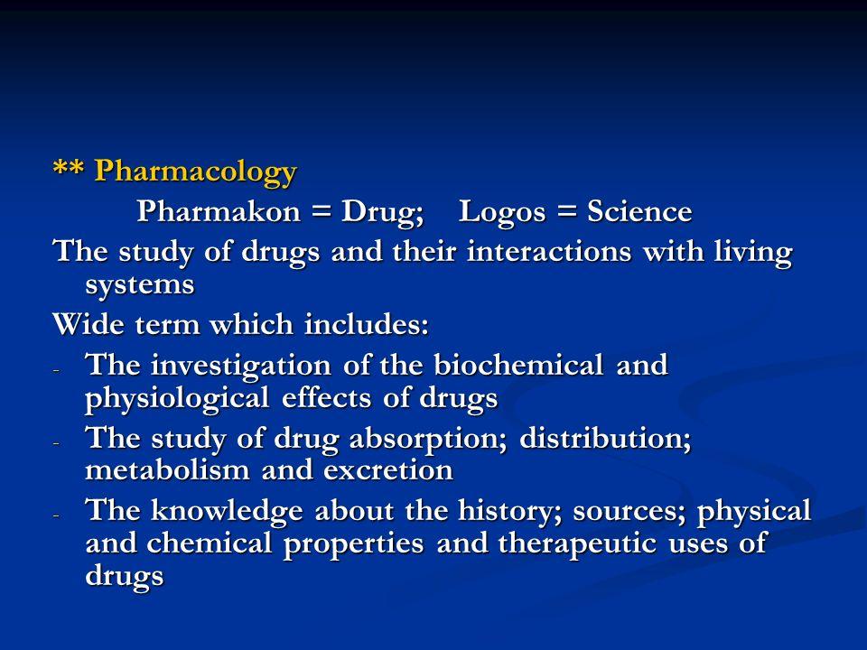 Drug metabolism involves 2 major pathways: 1.