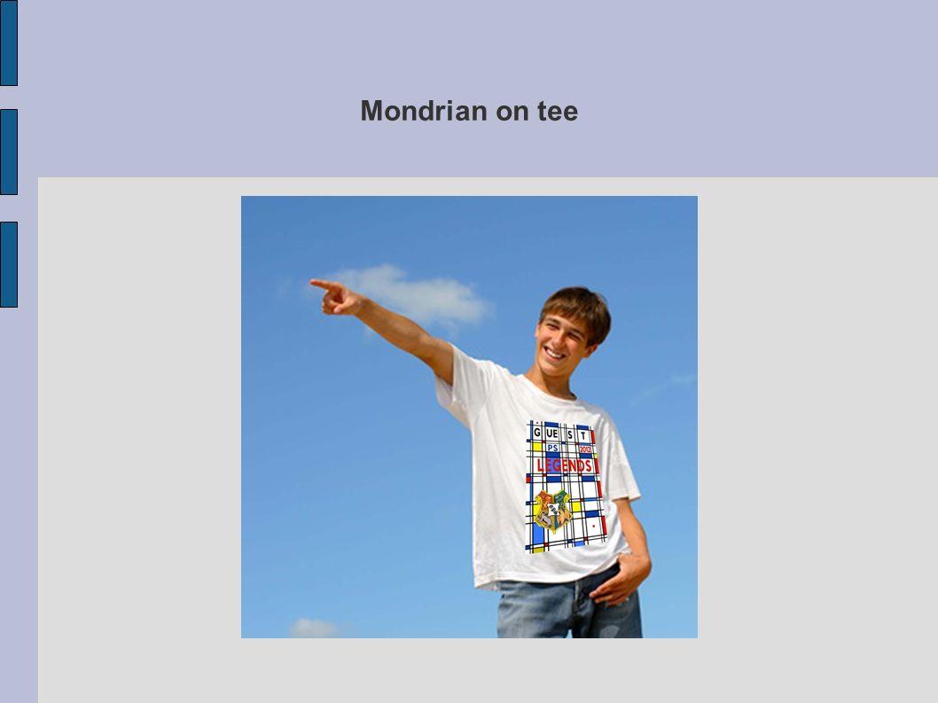 Mondrian on tee