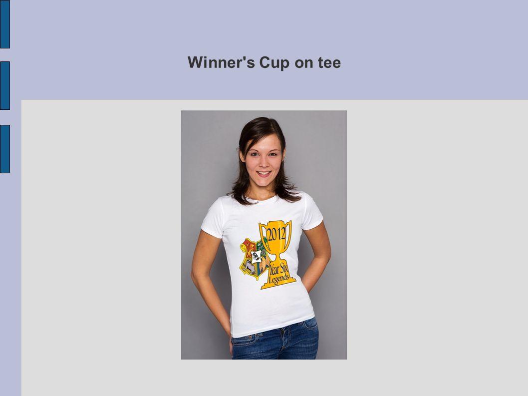 Winner s Cup on tee