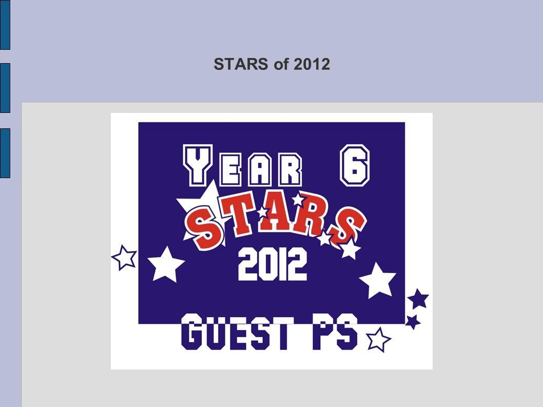 STARS of 2012