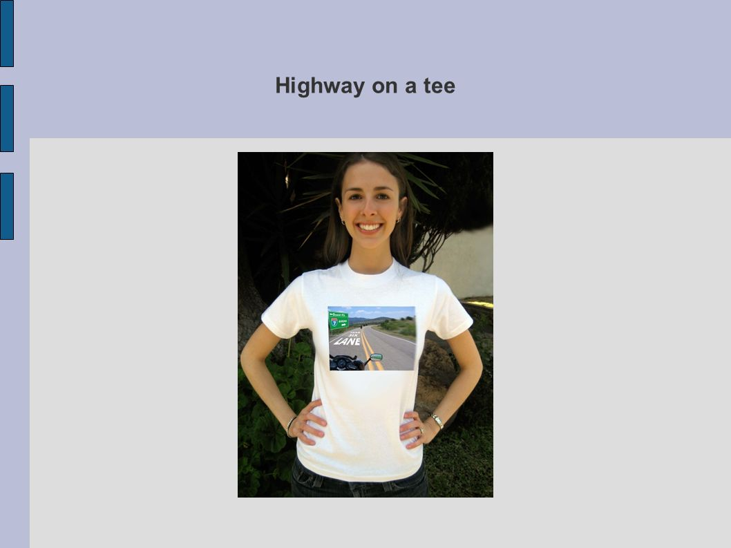 Highway on a tee