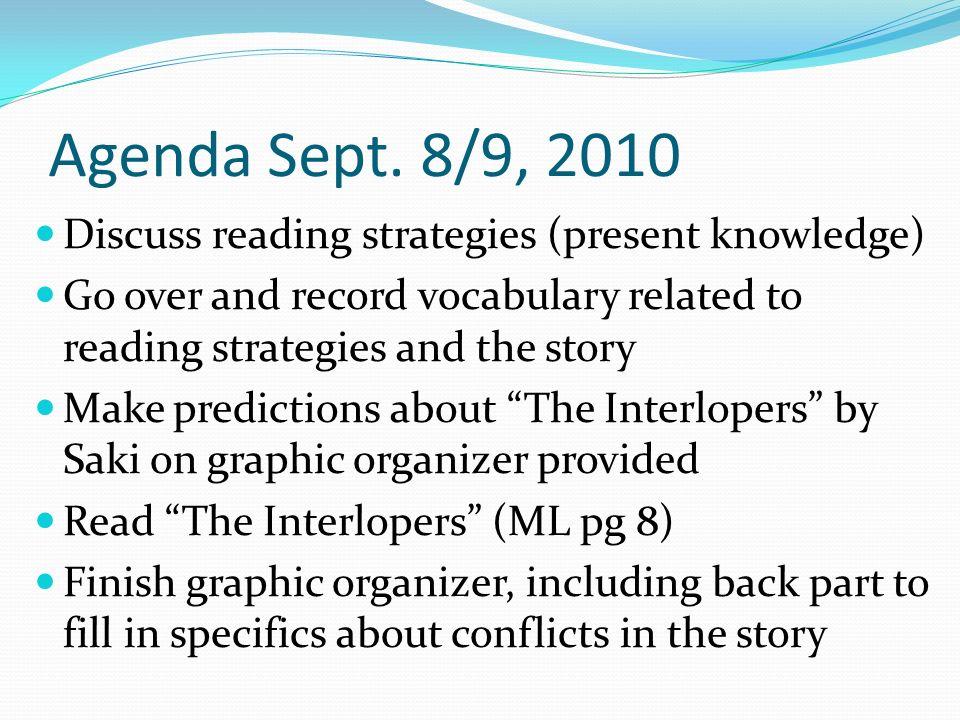 Agenda Sept.