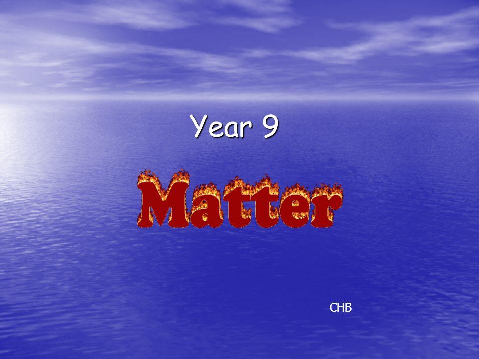 Year 9 CHB