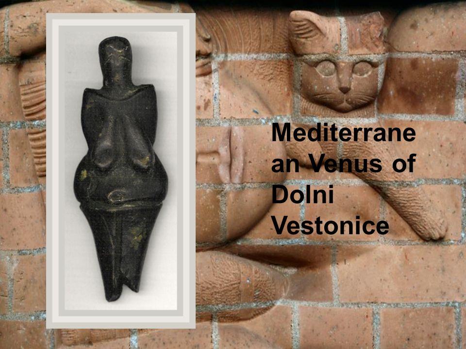 Mediterrane an Venus of Dolni Vestonice
